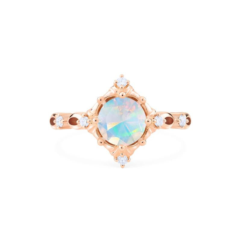 [Annalise] Victorian Heirloom Ring in Opal - Michellia Fine Jewelry