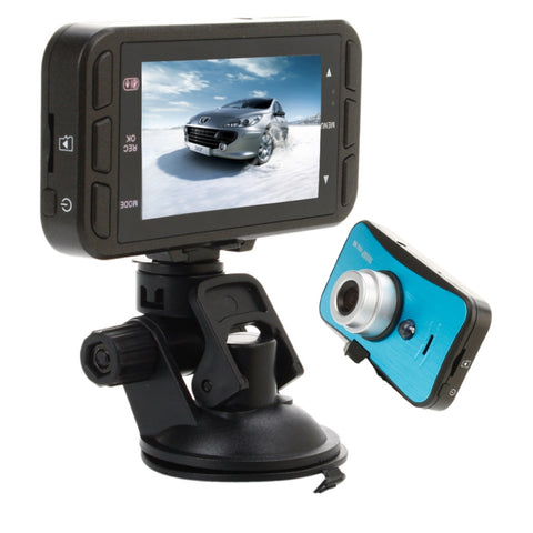 2.7″ 1080P 2 LED 120° Wide Angle Car DVR Camera Recorder Black