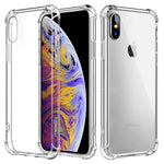 Air Cushion Corners Shockproof Clear Transparent Soft TPU Case for Apple iPhone XS