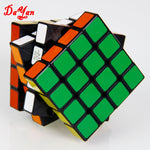DY+MF8 Second Generation 4x4x4 65mm Rubik's Revenge Magic Cube Puzzle Toy Black