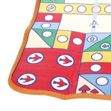 Huaying 523E Plastic Carpet Flying Aeroplane Chess Family Game Multicolored