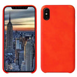 Magic Heat Sensitive Change Color Soft TPU Back Case Cover for iPhone X Red