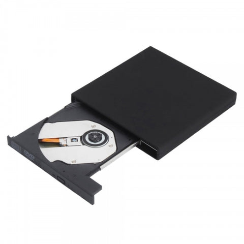 Slim Portable USB 2.0 External DVD Drive CD-RW Burner,Black