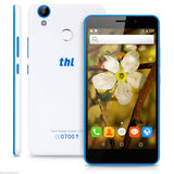THL T9 Pro 5.5 inch Android 6.0 MTK6737 Quad Core 1.3GHz 2GB RAM + 16GB ROM Fingerprint Scanner Bluetooth 4.0 4G Smartphone White