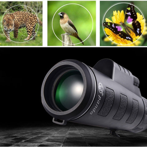 PANDA 35 x 50 BAK4 HD Camera Lens Zoom Monocular Telescope & Clip for Smartphone