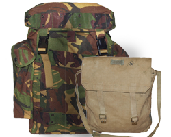 Military Backpacks and Vintage Army Bags