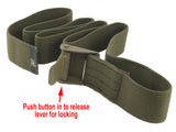 US Military Load-Securing Strap - utility webbing strap with locking buckle
