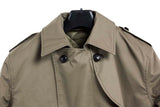 Dutch Khaki Military Trench Coat – Full Length – new