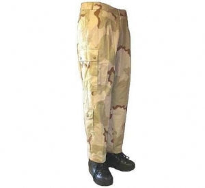 Dutch Desert Camouflage Combat Trousers - DISTRESSED RANGE