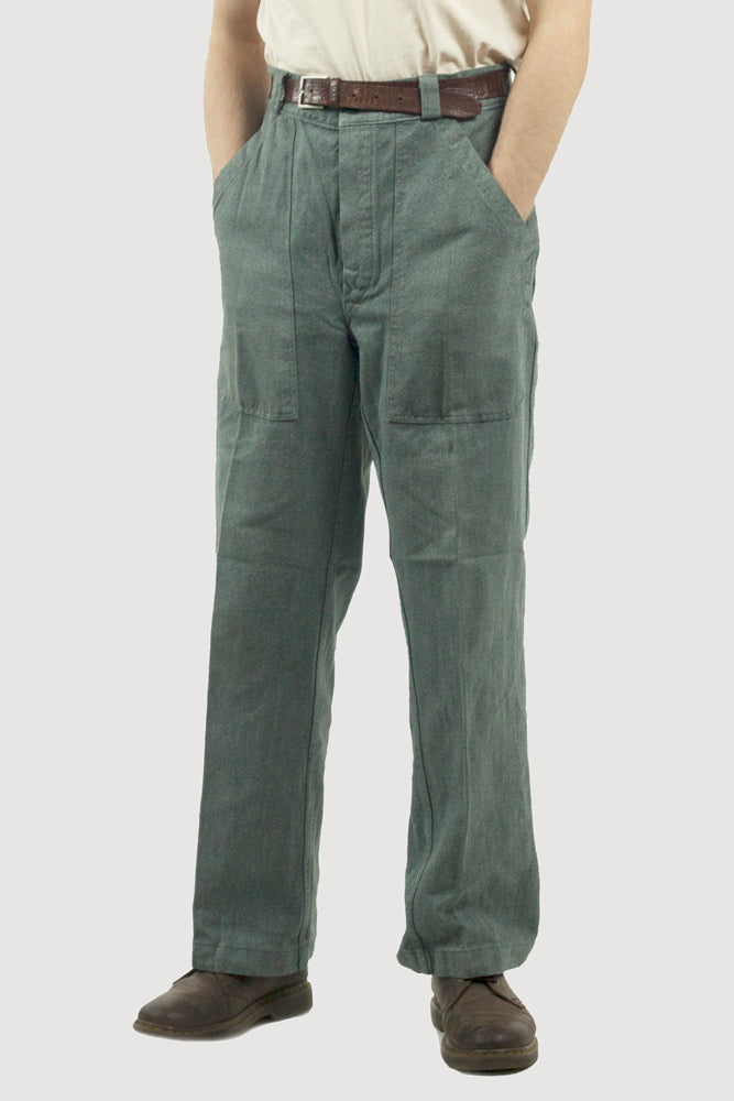 "Swiss denim work trousers - 36"" waist up to 40"" waist"