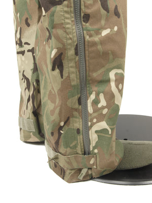British Army Gore-Tex Over-Trousers – MTP Camo – heavyweight – Unissued