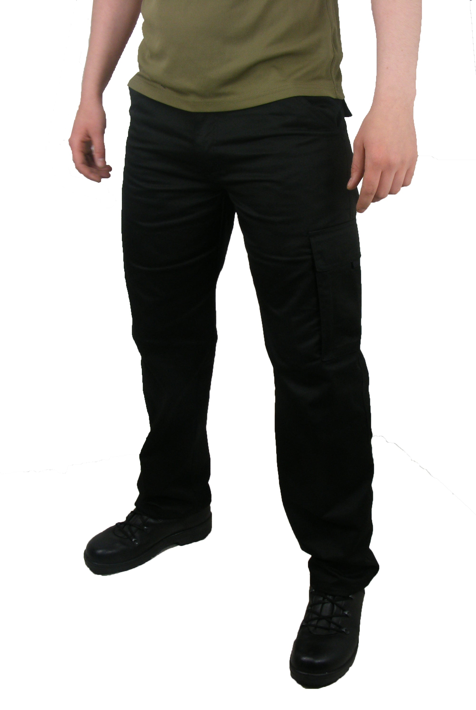 Dutch Military Police - Black Five-Pocket Security Trousers - Unissued