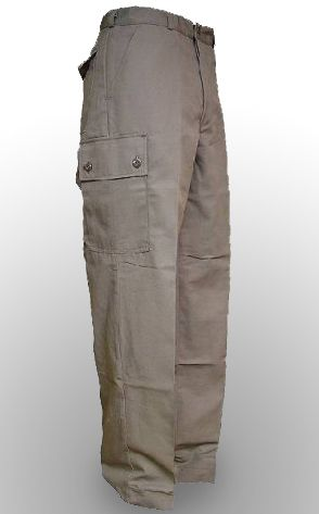 Dutch Air Force Grey Combat Trousers - unissued