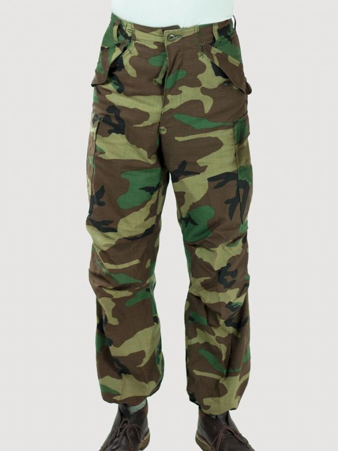 US M65 Woodland Camo Trousers - Genuine US Army Surplus