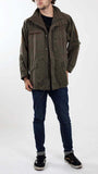 Olive Green Combat Jacket For Men