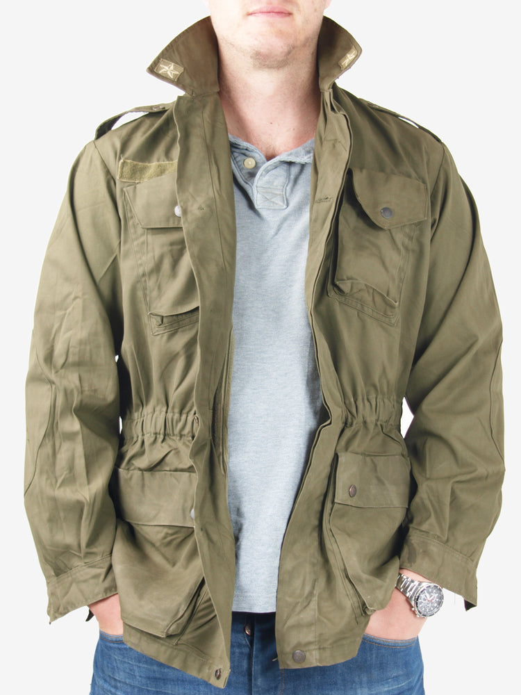 Italian Army Olive Green Field Jacket – lightweight