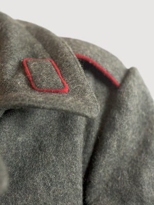 Bulgarian Grey Wool Greatcoat - Soviet era