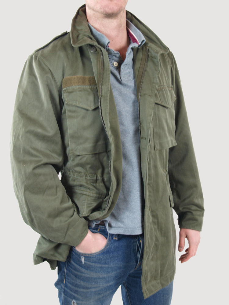 "Short for ""M,"" the year of it's debut and first use, it served as a replacement for U.S. troops world-wide of the M field jacket, which in turn was the second ."