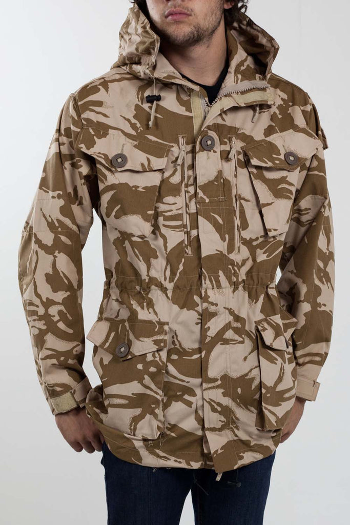 British Army Windproof Desert smock parka - Genuine British military issue - Grade 1