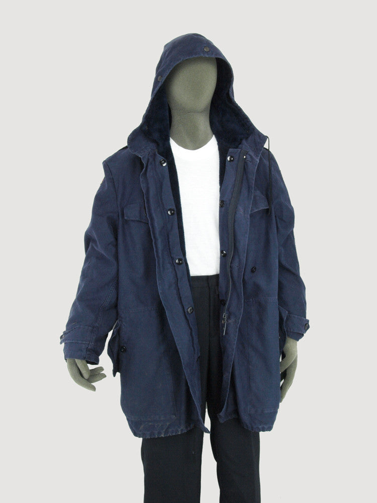 German Army Parka - Blue