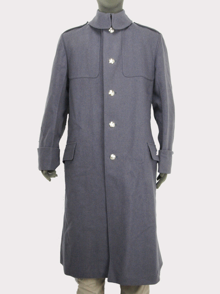 British Army Household Guards Greatcoat - Grey Wool