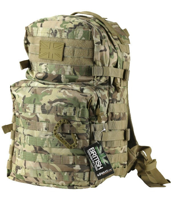 BTP - Medium Molle Assault Pack 40 Litre - Camo Rucksack
