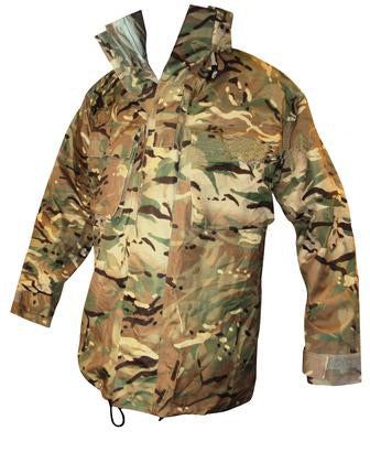 British MTP Combat Jacket - MVP (like Gore-Tex) - no hood - DISTRESSED