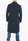 FULL LENGTH BLUE WOOL GREATCOAT - GENUINE BRITISH NAVY
