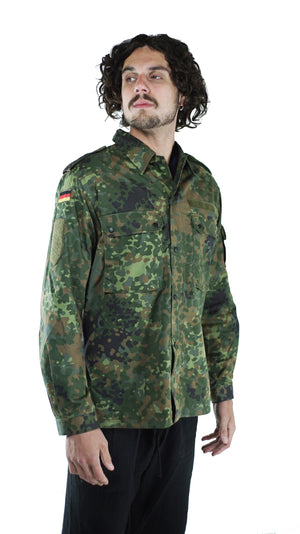 Vintage German Flecktarn Camo Shirts