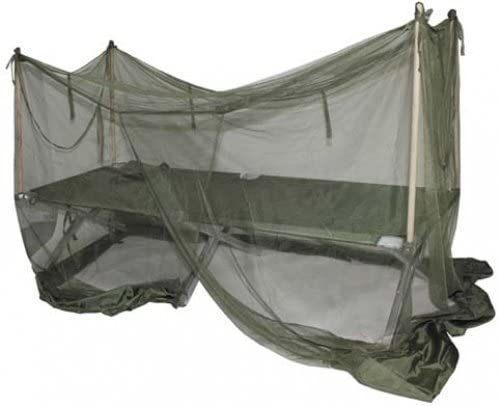 British Army Cot Bed Mosquito Net - single bed size