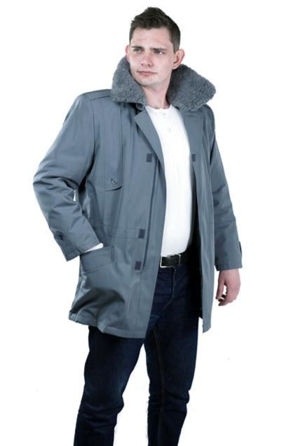 Czech Army cold-weather coat – available in green or grey – new