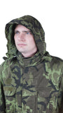 Czech M65 Camo Parka with hood – with fleece liner