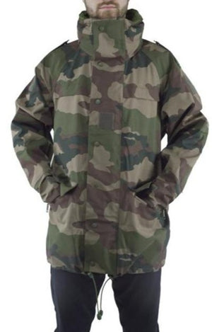 "French Woodland CCE Camo Army ""Gore-tex"" Jacket - Unissued"