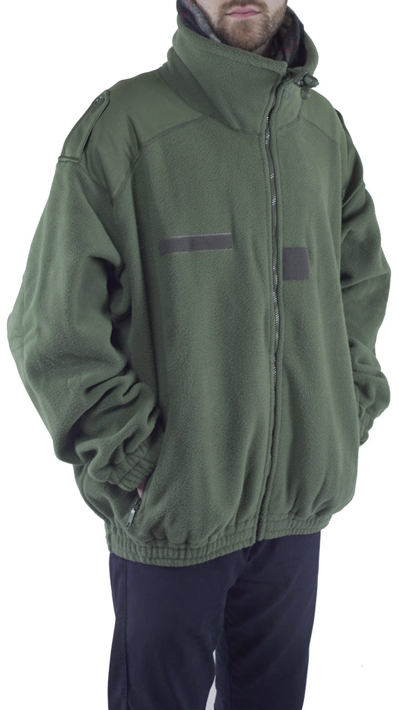 French Military Fleece Jacket – Used