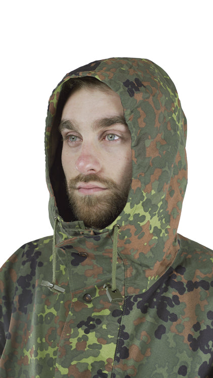 German Army Flecktarn Parka –  DISTRESSED RANGE