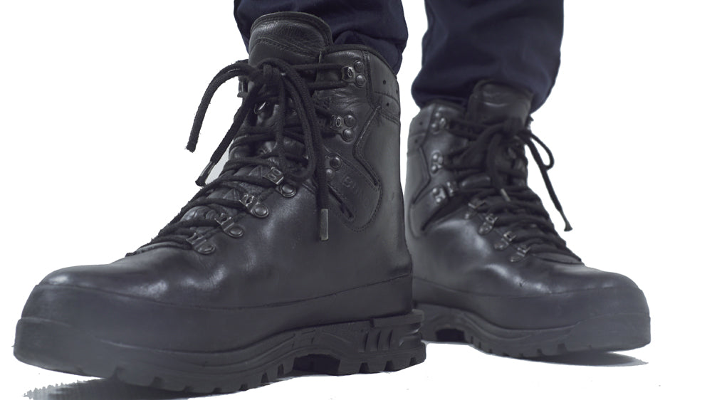 German Army Mountain Boots - Gore-Tex lined