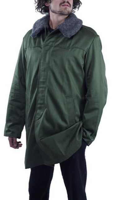 Hungarian Olive Military Parka