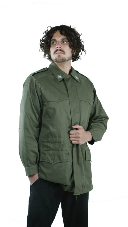 Italian Army Green Coat – Field Parka – New