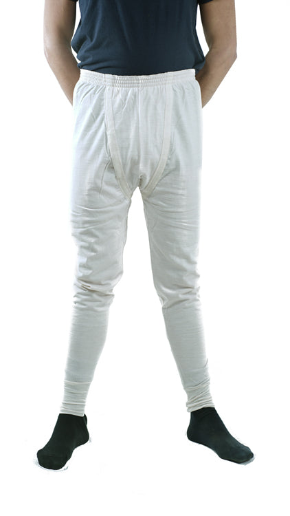 Italian Cream/White Thermal Long Johns –  unissued