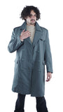 Italian Field Grey Military Trench Coat – Men's - Unissued