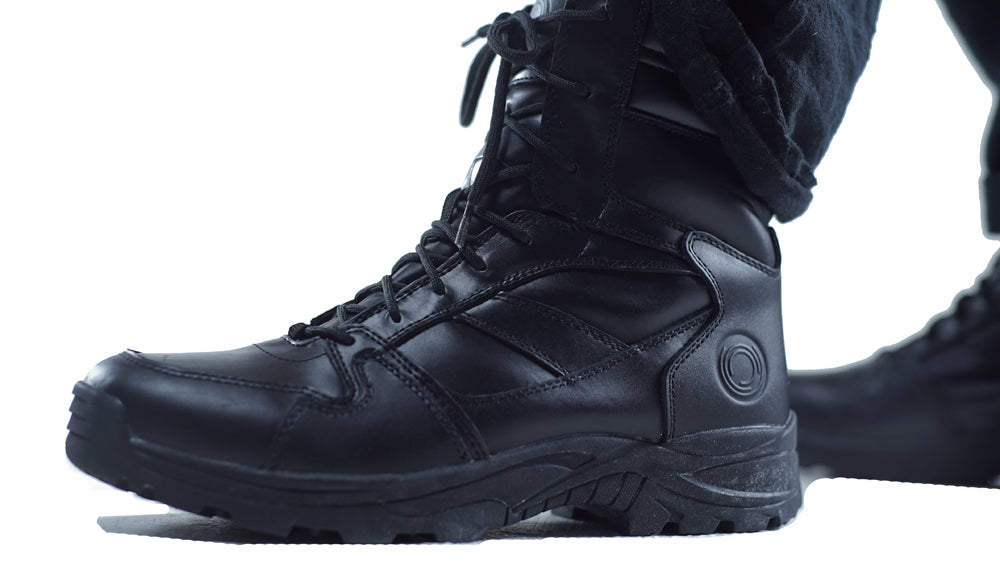"Ops Tactical 001 ""Climate 6"" Leather Boots – Brand new"