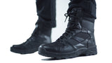 "Ops Tactical 002 ""Climate 6"" Black Leather and Cordura Boots – New"