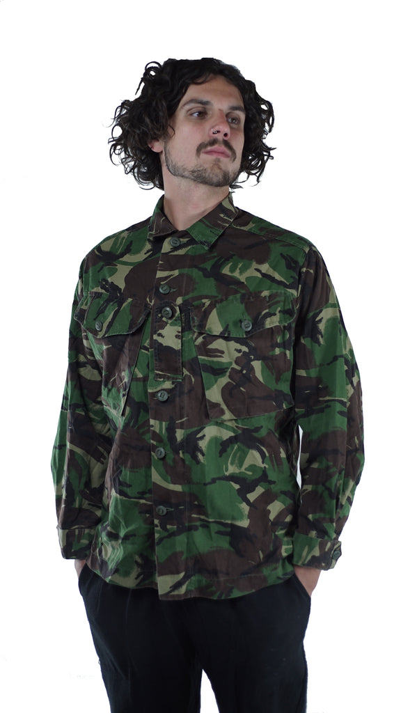 British Army Woodland Camo Jacket - Soldier 95