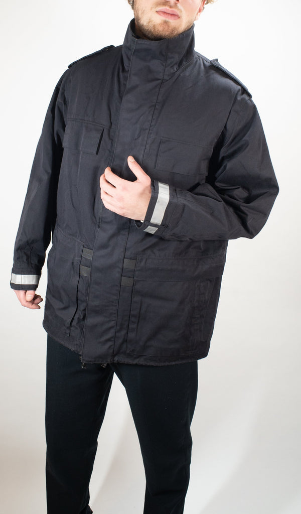 Dutch Police Bilaminate Waterproof Black jacket