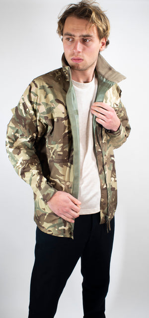 British Army Gore-Tex Jacket - Lightweight MTP Camo – Rip-Stop