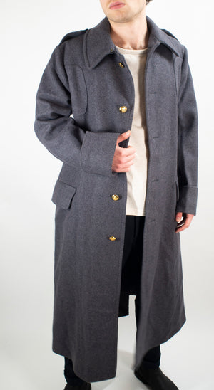 British Army Guards Greatcoat - Grey Wool