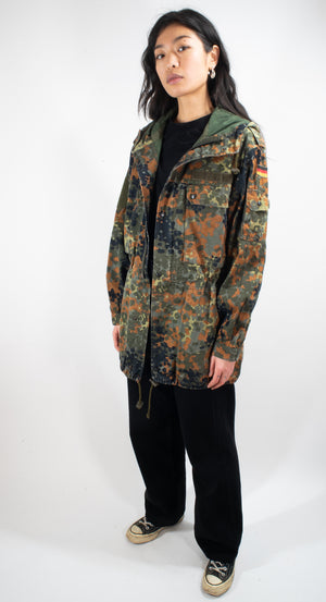 German Army Flecktarn Parka