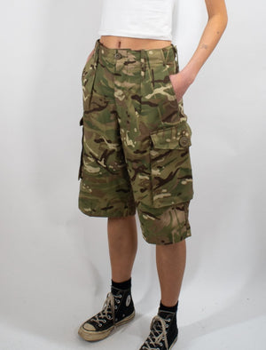 British MTP Camo Shorts – Genuine British Army Surplus – unissued
