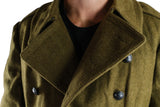 Romanian Military Vintage Wool Greatcoat – DISTRESSED RANGE