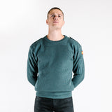 Spanish Commando 50% Wool Jumper – Bottle Green – new